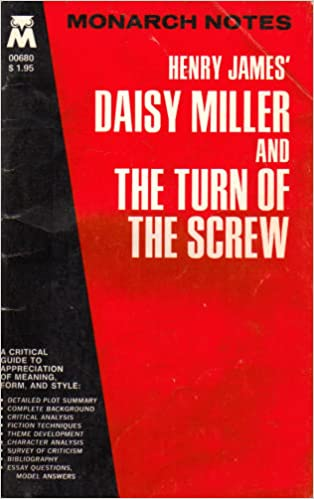 Topics For High School Essays Henry James Daisy Miller And The Turn Of The Screw Monarch Notes  Vartkis Kinoian  Amazoncom Books English Essays also Illustration Essay Example Papers Henry James Daisy Miller And The Turn Of The Screw Monarch Notes  Essays About Science