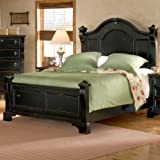 American Woodcrafters 2900-50POS Heirloom Poster Bed, Queen, Black