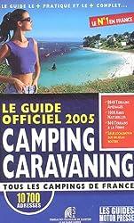 Le Guide Officiel Des Etapes Camping-Car 2005
