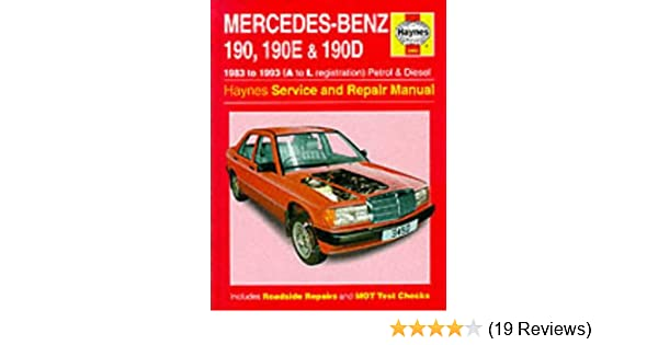 mercedes benz 190 190e and 190d 83 93 service and repair manual rh amazon com mercedes 190e service manual pdf 190e service manual pdf