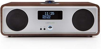RUARK AUDIO R2 Mk3 - Equipo de Sonido Compacto estéreo, Color Marrón (Rich Walnut)