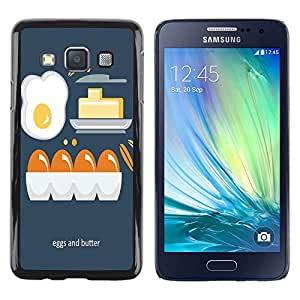 Dragon Case - FOR Samsung Galaxy A3 - egg and butter - Caja protectora de pl??stico duro de la cubierta Dise?¡Ào Slim Fit