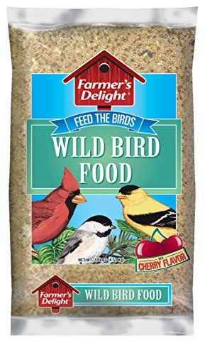 Bird Seed Bag - Wagner's 53002 Farmer's Delight Wild Bird Food, With Cherry Flavor, 10-Pound Bag