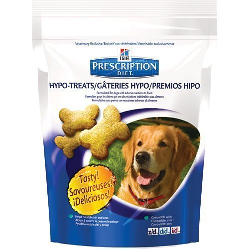 Hill's Pet Nutrition Prescription Diet Hypo-Treats Dog Treats Bag, 12 oz, 12 Bag by Hill's Pet Nutrition