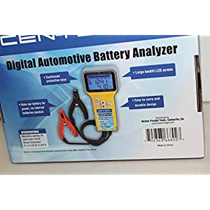 Digital Battery Analyzer from TNM by Cen-Tech