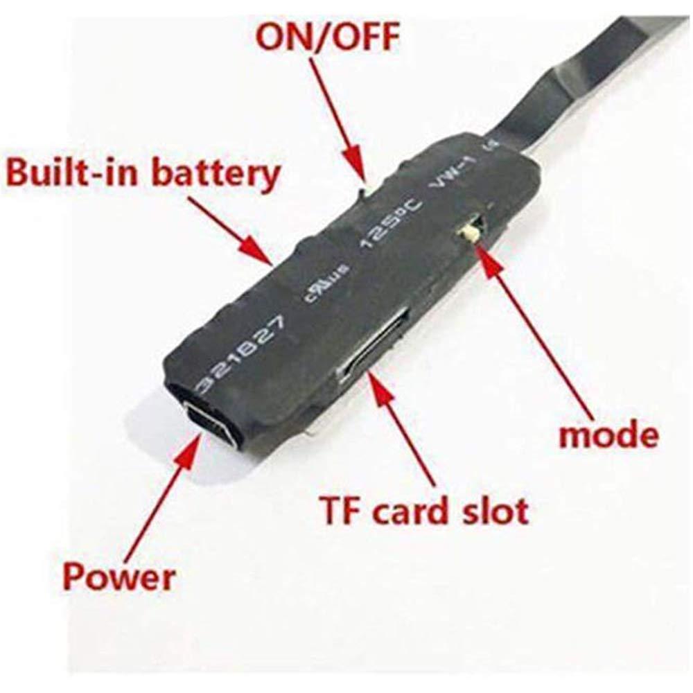 Mini Cam/éra Cach/ée Portable WiFi sans Fil Espion Cach/é Cam/éscope Enregistreur D/étection de Mouvement Cam/éra de Surveillance de S/écurit/é