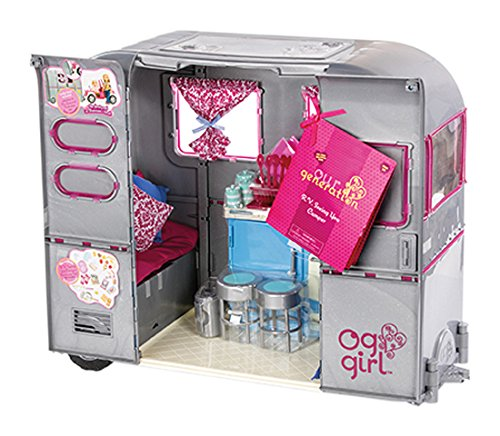 Our Generation R.V. Camper with Glitter (Generation R Doll)