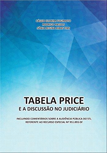 Tabela Price e a Discussão no Judiciário