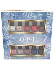 OPI Nail Lacquer Nutcracker Collection, Mini 10-Pack, 1.25 Fl Oz