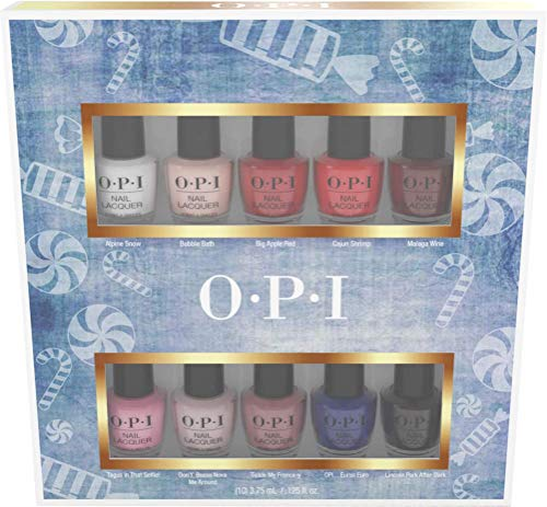 - OPI Nail Lacquer Nutcracker Collection, Mini 10-Pack, 1.25 Fl Oz