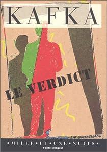 Le verdict par Kafka