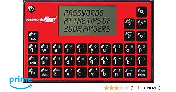 Amazon.com : passwordsFAST Compact Electronic Password ...