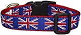 Up Country Union Jack Dog Collar - Large