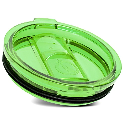OVERLORDInc Universal Lid for Stainless Steel 30 Oz Tumbler, Green
