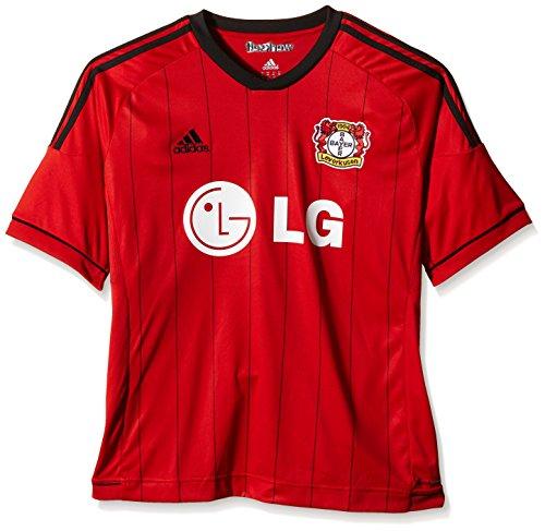 Rosso Bayer Uomo rot Adidas Leverkusen Da Ufficiale Maglia schwarz Yq1gwAf