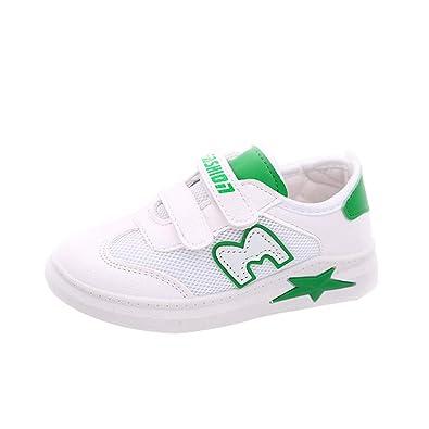 Winjin - Zapatillas de Baloncesto para niño y niña, Verde ...