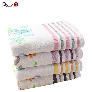 Generic toalla de playa (3, 60 x 120 cm: Cute algodón toalla de playa para niños Animal Print ...