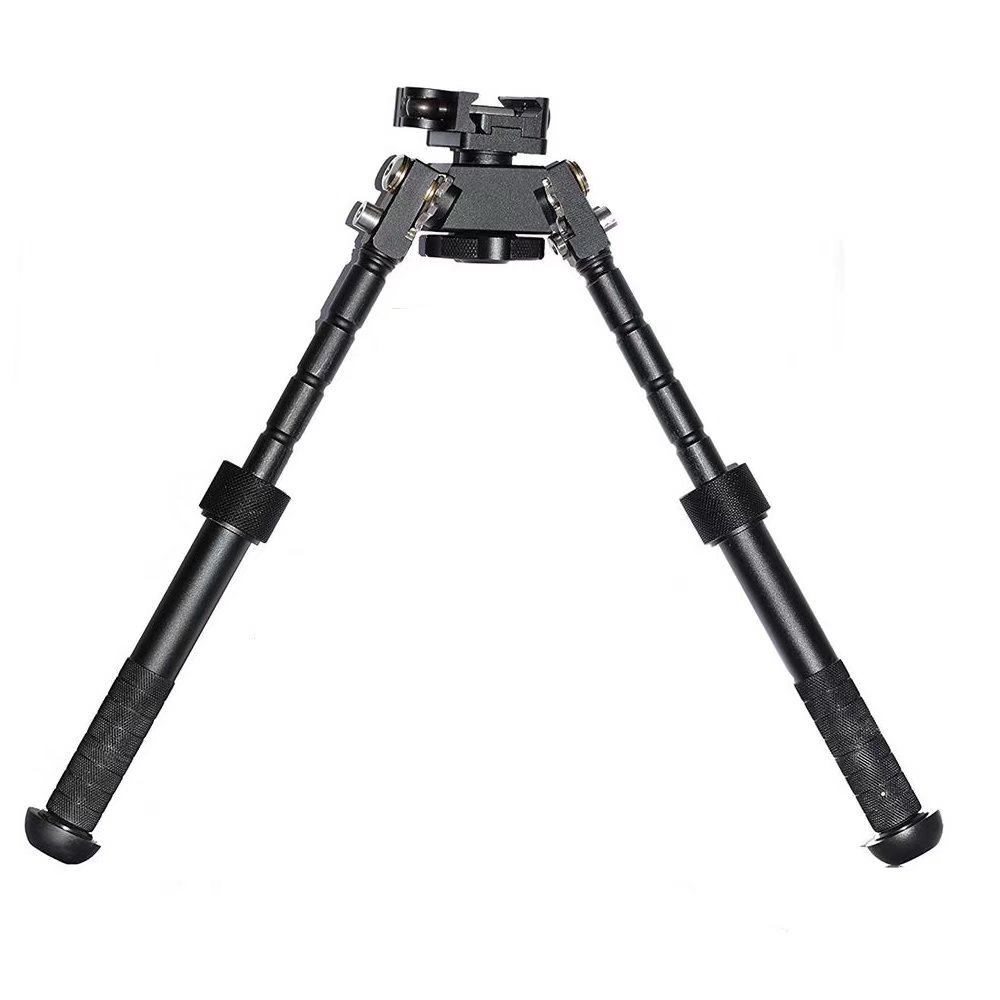 JahyShow Tactical Rifle Bipod Outdoors CNC QD Adjustable Fit Picatinny Rail (Black, 6.5 - 9 inch) by JahyShow (Image #2)