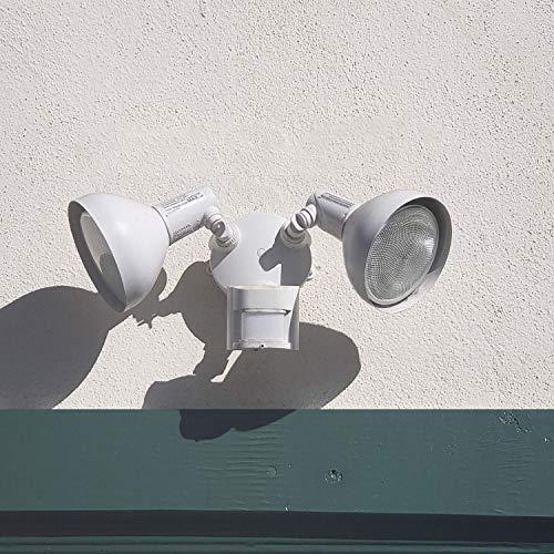 JULLISON 4 Packs PAR38 LED Bulb, 120V/13W/980Lumens/40 Degrees Beam, 90W Equivalent, 3000K Warm White, CRI80+, Dimmable, Glass Lens, Outdoor Flood, E26 Base, UL & Energy Star & FCC, Wet Location