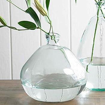 Amazon Com Vidrios San Miguel Recycled Glass Vase Home