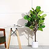 Fopamtri Artificial Fiddle Leaf Fig Tree 4.3 Feet