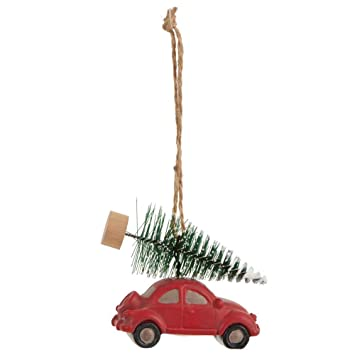 Amazon De Ib Laursen Christbaumschmuck Auto Beetle Vw Kafer Mit