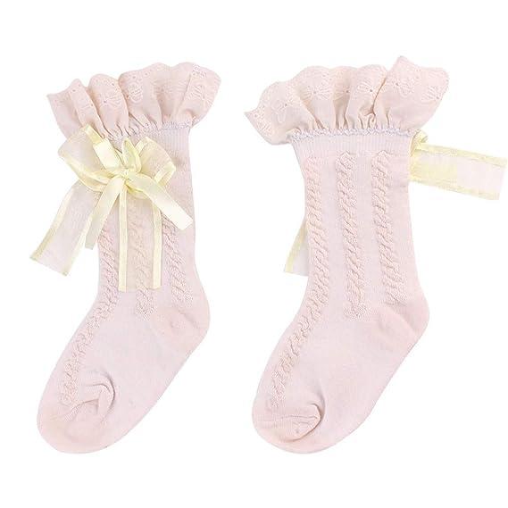 K-youth Calcetines para Bebé Niñas Algodón Calcetines Antideslizante ...
