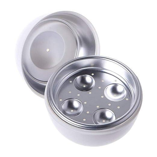 Horno microondas Vaporizador de huevos Caldera de huevo Microondas ...