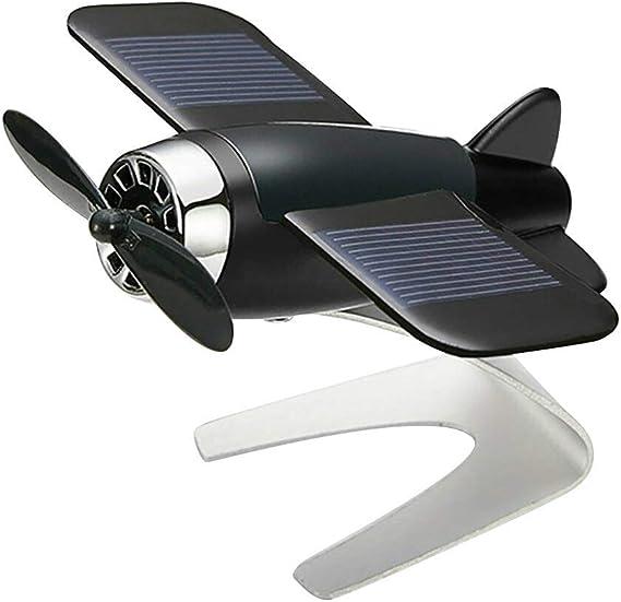 Baifeng Ambientador de Coche Avión Avión Modelo Solar Energía ...