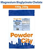Powder City Magnesium Bisglycinate Chelate (250 Grams) Review