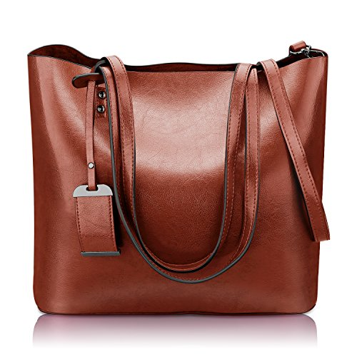 Handle Handbag (Women Top Handle Satchel Handbags Shoulder Bag Messenger Tote Bag Purse)