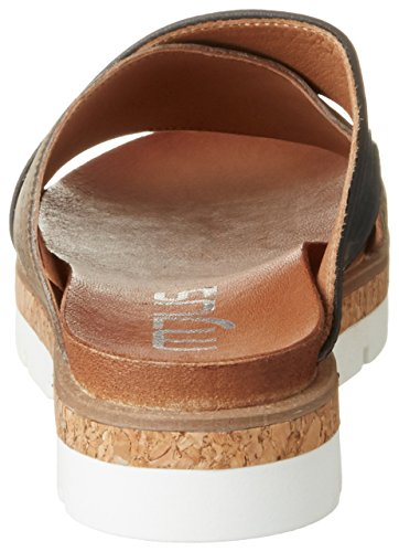 fossile Mujer 840016 0001 nero Zuecos Para 0101 Mjus Multicolor argento a0qPFUx