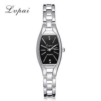 Señor Reloj Digital, sonnena lvpai Reloj de mujer reloj de pulsera de mujer de cuarzo con brillantes de acero inoxidable reloj Mujer Elegant Standard ...