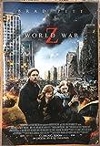 world war z movie poster - WORLD WAR Z MOVIE POSTER 2 Sided ORIGINAL INTL FINAL 27x40 BRAD PITT