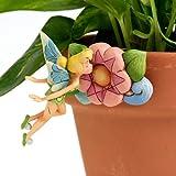 Disney Traditions by Jim Shore 4016547 Tinker Bell Garden Pot Hanger 2-1/2-Inch
