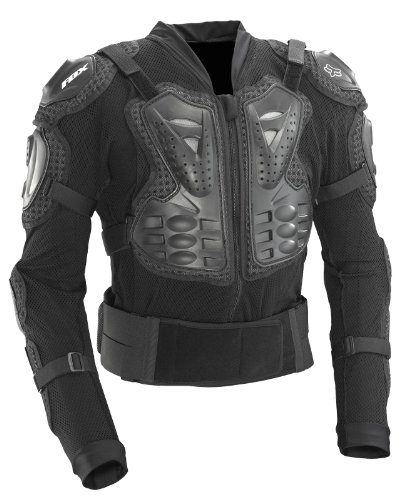 Fox Racing Titan Sport Protective MTB Jacket (Black, X-Large)