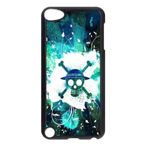 Black/White Sides Classic Style Custom Unique One Piece Design Skin Cover Case for iPod Touch 5th Durable Plastic iPod 5 Case