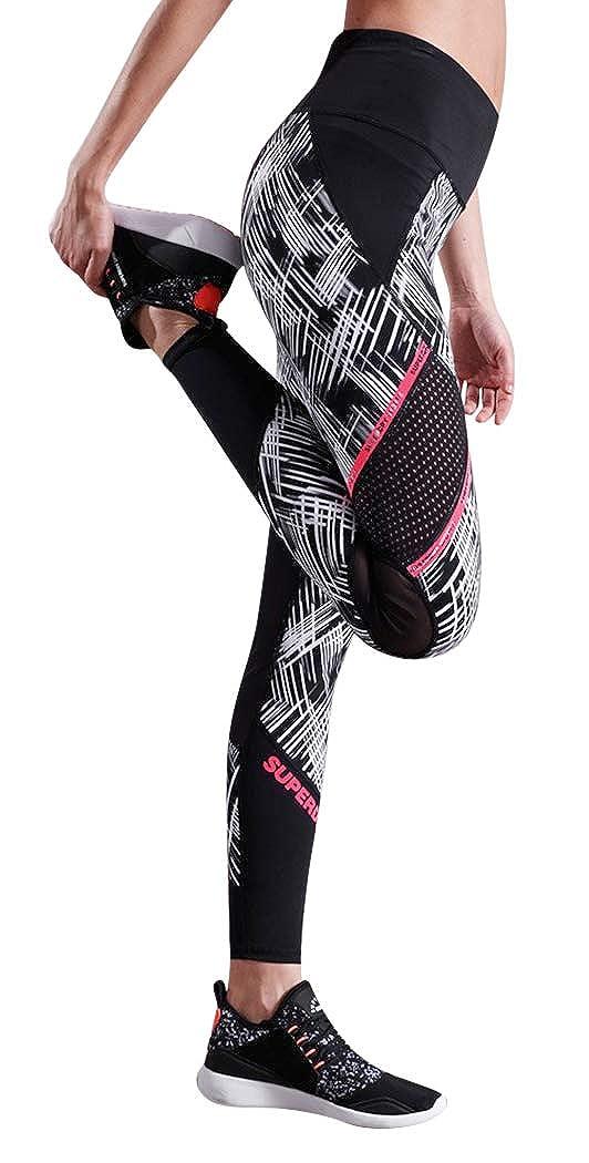 Superdry Womens Active Mesh Panel Leggings