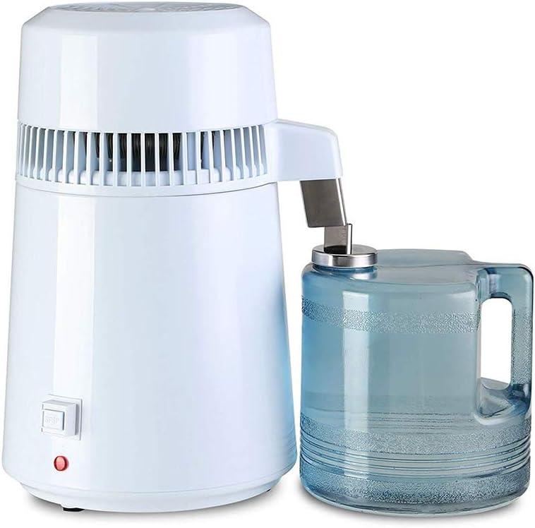 蒸留水器、4Lオールステンレススチール製内部水ボトル