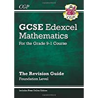GCSE Maths Edexcel Revision Guide: Foundation - for the Grade 9-1 Course (with Online Edition) (CGP GCSE Maths 9-1 Revision)