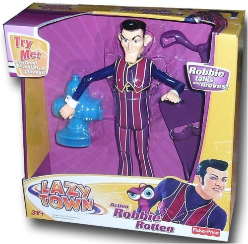 Top lazy town and robbie rotten toys