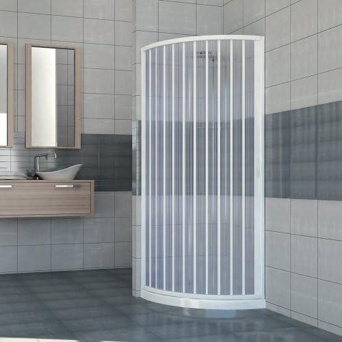 Box ducha ad una puerta apertura lateral semicircular. Producto de ...