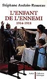 Image de L'enfant de l'ennemi 1914-1918 (French Edition)