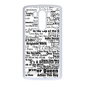Queen LG G3 Cell Phone Case White gift pjz003-9408985