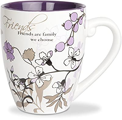 Pavilion Gift Company 66341 Friends Ceramic Mug, 20-Ounce, Mark My Words