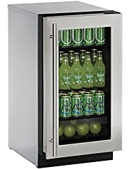 U-Line U2218RGLS00B 3.6 cu. ft. Built-in Refrigerator, Stainless Steel
