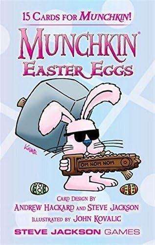 Steve Jackson Games Munchkin Huevos de Pascua Booster Pack D10 Juego de Cartas: Amazon.es: Juguetes y juegos