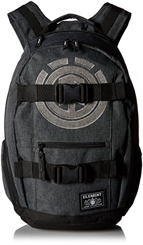 element-young-mens-mohave-skate-backpack-with-straps-and-laptop-sleeve-accessory-mohave-black-heathe