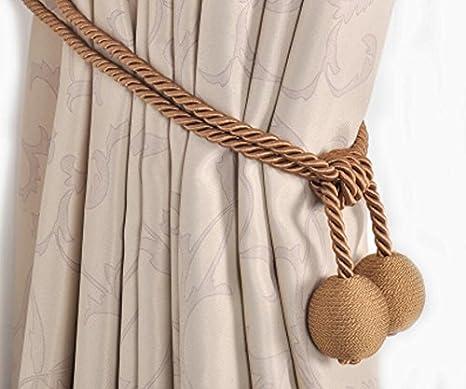 Tende Color Corda.Set Di 2 Fili Di Cotone Cotone Corda Tende Tie Deduzione