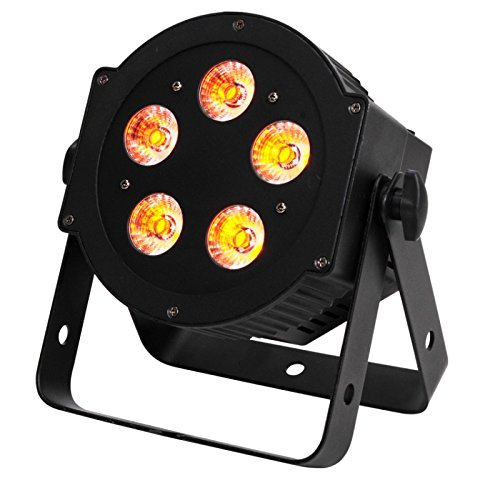 American DJ 5P HEX   High powered flat par design with 6 in 1 Hex LEDs